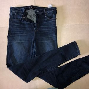 Abercrombie High waisted skinny jeans - simone